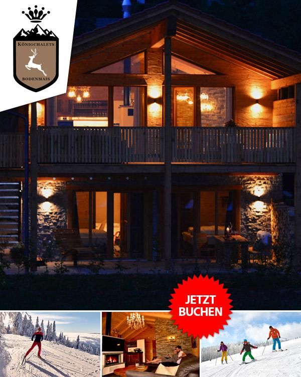 Königchalets - Luxus-Chalets Winterurlaub Bodenmais Bayern